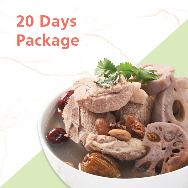 20 Days package catering singapore