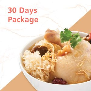 30 Days package catering singapore